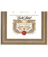 Gold label Ignacio Haya Cigar Box Label Tampa FL - $7.40