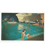NJ Atlantic City Shelburne Hotel Indoor Swimming Pool Vtg Advertising Po... - $4.99