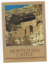 Montezuma Castle Cliff Dwelling National Monument AZ 1984 Postcard - $6.64