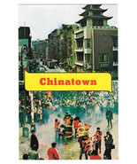 NY Chinatown New York City Dual View Vtg Nester's Postcard - $4.74