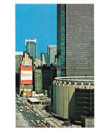 NY New York City Madison Square Garden Winston Cigarette Ad Vtg Postcard - $6.36