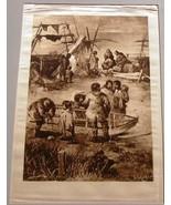 Photogravure Picturesque California J. Muir A Keller Satin Print 1888 E... - $42.28