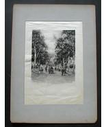 Photogravure Picturesque California J. Muir Satin Print W.C. Fitler 1888  - $42.28
