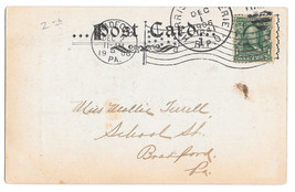 RPO Harrisburg & Erie Train 41 Railroad Cancel Bradford PA Flag Postmark... - $4.99
