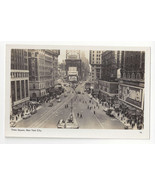 RPPC NY New York City Times Square Advertisements A Mainzer Real Photo P... - $9.45