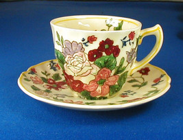 Royal Doulton Wildflower Demitasse Cup and Saucer D5273 - $9.95
