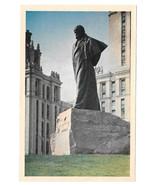 Russia USSR Moscow T G Shevchenko Monument Vtg Soviet Era Postcard CCCP - $6.64