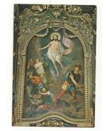 Serbia Jesus Resurrection Arsa Teodorovic Church of Three Hierarchs Vtg ... - $6.36
