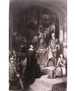 Steel Engraving 1854 Murrays Defense of Toleration A. Jones Appleton Print - $17.10