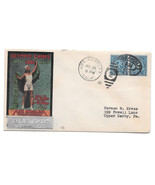US 1932 Olympics Summer Opening Day Cover Olympic Village Cachet Sc 719 ... - £38.56 GBP
