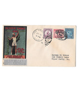 US 1932 Olympic Village Cachet Summer Opening Day Cover Sc 718 719 716 W... - $47.00