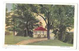 VA Mount Vernon Summer House Vtg MVA Postcard - $4.74