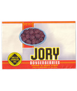 Vegetable Can Label Jory Boysenberries Salem OR LARGE 6lb 10 oz Vintage - $4.99