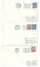 US 1932 Summer Olympics Los Angeles Sc718 719 set 3 Covers Airmail & Arcade Sta - $9.30