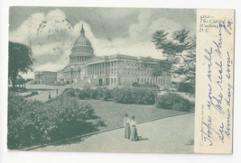 Washington DC Capitol Building Vtg UDB Postcard 1905 Philadelphia Flag C... - $6.64