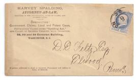 Washington DC Advertising Cover Attorney Harvey Spalding Act Notable Cor... - $19.95