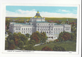 Washington DC Library of Congress Vtg B. S. Reynolds Postcard - $6.64