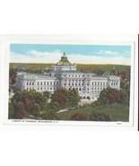 Washington DC Library of Congress Vtg B. S. Reynolds Postcard - $6.64