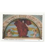 Washington DC Mural Library of Congress Melpomene Edward Simmons Vtg Pos... - $6.64
