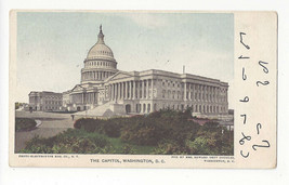 Washington DC The Capitol Building U.S. Capital Vtg UDB Postcard 1907 - $6.64