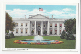 Washington DC White House Vtg B. S. Reynolds Postcard - $4.74