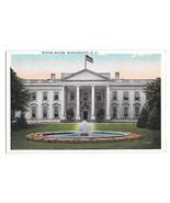 Washington DC White House Vtg B S Reynolds Postcard 8390 - $6.64