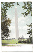 Washington DC Washington Monument Vtg UDB Postcard ca 1905 - $6.36