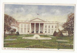 Washington DC White House Vtg Foster & Reynolds UDB Postcard - $4.74