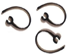 "3 Pack of Black Ear Hook Earhook Loop Clip Replacement ""Compatible"" with... - $3.38"