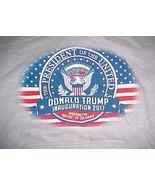 Donald Trump Inauguration 2017 U.S. President Washington D.C. Gray Hoodie M