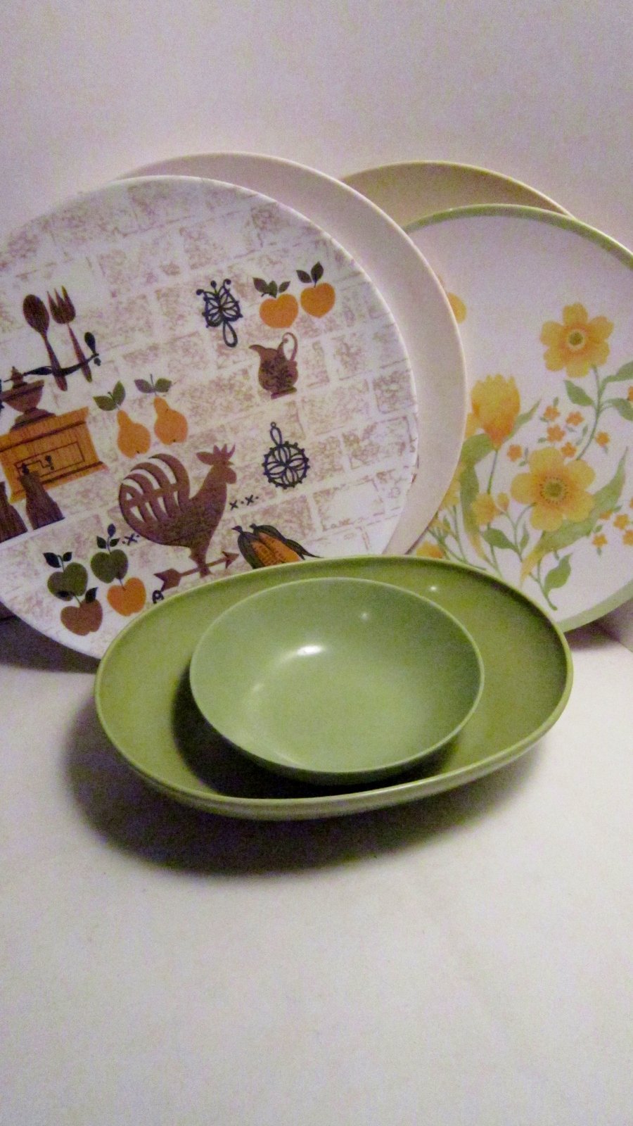 Melamine melmac plates and bowls 07