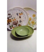 Melmac Prolon Texas Ware Apollo Ware Melamine Plates and Bowls - $2.00