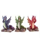 See-Speak-Hear No Evil  set of 3 Dragon figurines - $8.97
