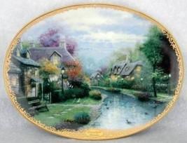 Thomas Kinkade Lamplight Brooke Collector Plate - limited edition - $27.99