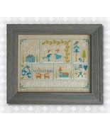 Winter Wonderland cross stitch chart Tiny Modernist Inc - $10.80