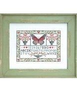 Spring Sampler cross stitch chart Tiny Modernist Inc - $8.10