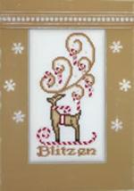 Blitzen Crystals cross stitch chart Hinzeit - $19.80