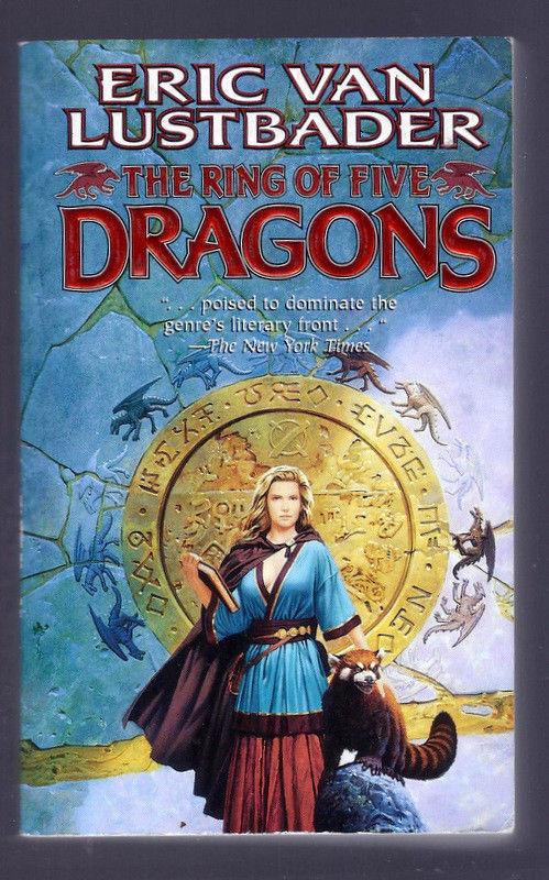 the ring of five dragons lustbader eric van