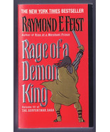 Rage of a Demon King Bk. 3 by Raymond E. Feist Paperback Book - $4.00