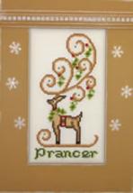 Prancer Crystals cross stitch chart Hinzeit - $19.80