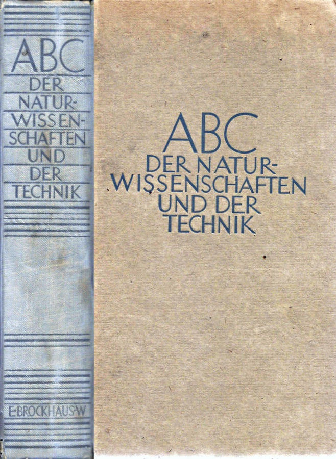 ABC DER GERMAN ENGINEERING  BOOK AIRCRAFT DIRGIBLE & LOTS MORE 1949 EDITION