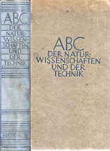 ABC DER GERMAN ENGINEERING  BOOK AIRCRAFT DIRGIBLE & LOTS MORE 1949 EDITION - $9.95