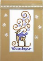 Dasher Crystals cross stitch chart Hinzeit - $19.80
