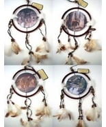 Wildlife  Dreamcatcher Mandela Set of 4 Leather - $16.99