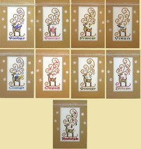 FULL BUNDLE Reindeer Crystals (9 charts) cross stitch charts Hinzeit - $168.30