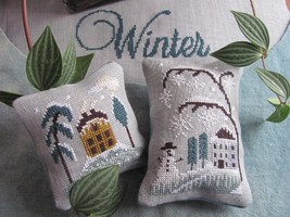 Chilly Winter cross stitch chart By The Bay Needleart  - $10.80