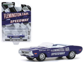 "1971 Dodge Challenger Convertible Official Pace Car Purple ""Flemington Fair Spe - $14.28"