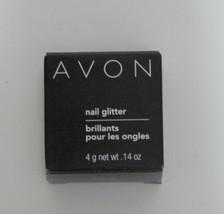 Avon Nail Glitter Powder Brilliant Chrome Silver - $8.42