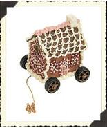 "Boyds Pull Toy -""Gingerbeary Tug Along"" Tug Along  -#654248 -New -2002 -... - $23.99"