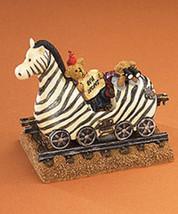 """Boyds Bearstone """"Zeb The Zebra With Zoey & Zac"""" #4015992 Nib - $23.99"""